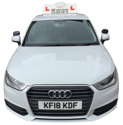 KDF Driving training car